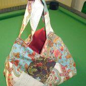 Un sac 22 carrés en patchwork... - Le Blog de MamyPatch