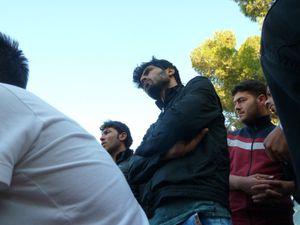 Réfugiés syriens à Senyurt (photos E.C.)