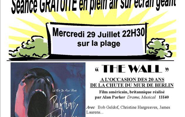 """""""THE WALL""""...CINEMA SUR LA PLAGE BERCKOISE ...MERCREDI !"""