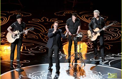 U2  -Ordinary Love  -86e Oscars 02-03-2014