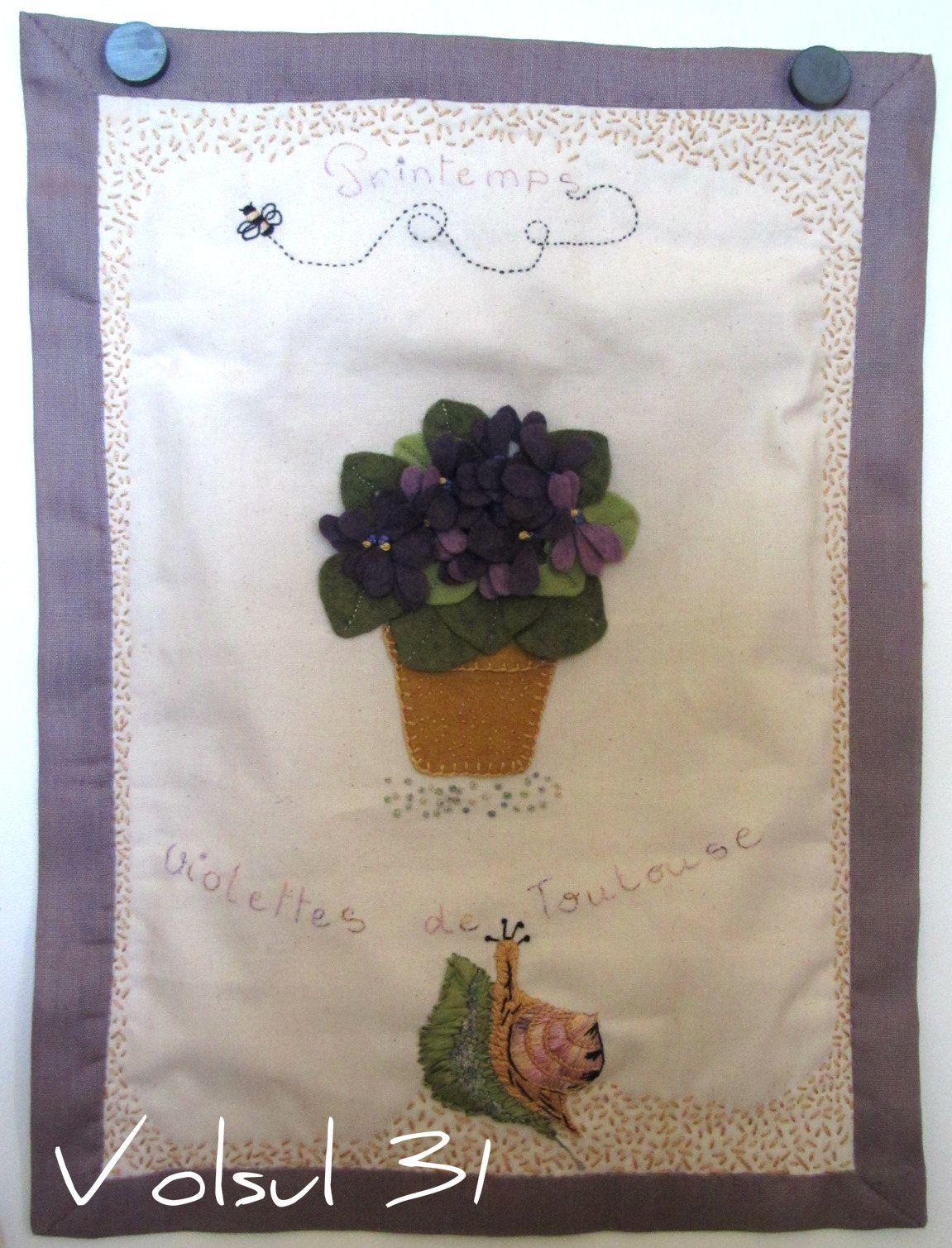 Les violettes de TOULOUSE !
