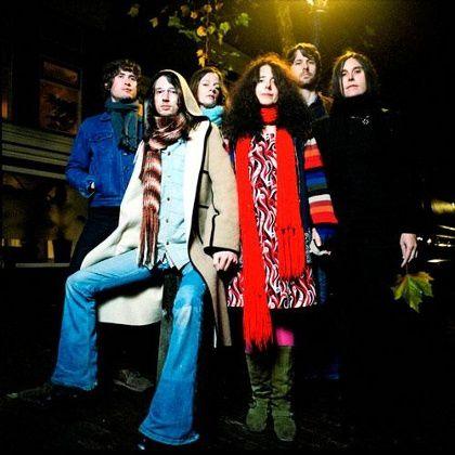 espers, un groupe de folk psychédélique américain faisant partie de la scène rock indie émergente