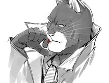 Fan Art Blacksad By tiggerfactory