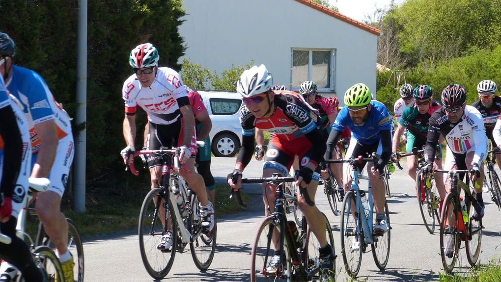 80 Cyclosportifs au GP Cycliste de L'ile d'Olonne