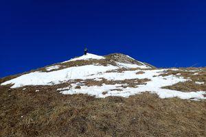 Pointe du Replan : Face sud-est; depuis Bonnavaz 2/2