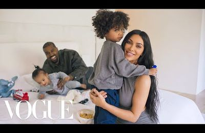 73 questions avec Kim Kardashian West (Kanye West) | Vogue