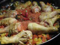 Riz au Poulet et au Curry
