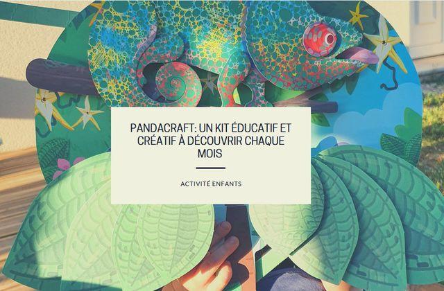 Pandacraft: un kit éducatif et créatif à découvrir chaque mois