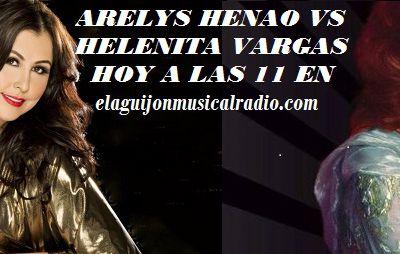 ARELYS HENAO VS HELENITA VARGAS EN ÍDOLOS FRENTE A FRENTE