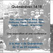 249 - Guerre 14-18, Les Poilus de Quéménéven, Finistère, des Bretons dans la Grande Guerre, Exposition et conférence à la mairie de Quéménéven du 11 au 29 novembre 2014 - SKREO