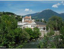 Merano, une ville d'eaux de montagne...