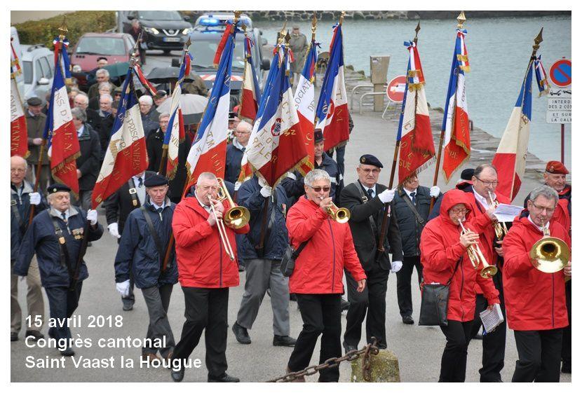Saint Vaast la Hougue : congrès cantonal ACPG CATM