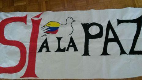 Sí por la Paz en Colombia por Myriam Montoya