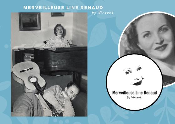 PHOTOS: Line Renaud et Loulou Gasté 1949
