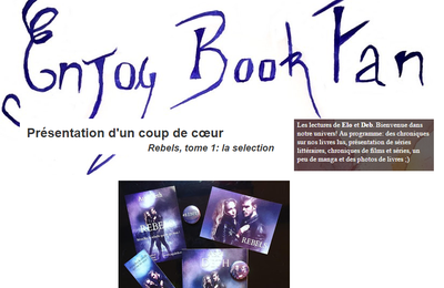 "Rebels : Chronique ""Coup de coeur""  : Enjoy Book Fan !"