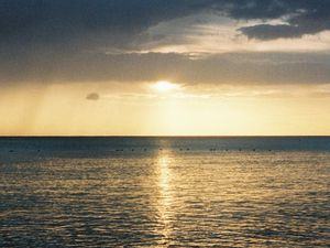 Le soleil se couche sur La Romana