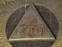 Vues diverses sur le maitre-autel (clichés d'Armand Launay, septembre 2013 et aout 2020).
