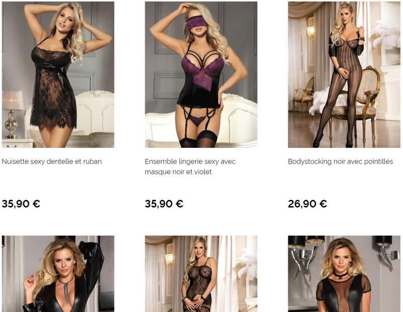 Captures d'écran du site Love and Vibes - tous droits réservés