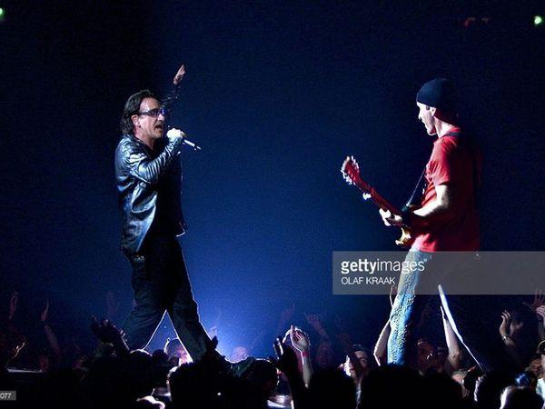 U2- Gelredome Arnhem Pays Bas 31-07-2001
