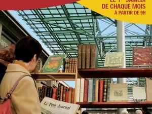 Marché aux livres anciens ou d'occasion d'Amiens