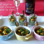 Cocottes de mini Saint Jacques en crème de persil, de Mamigoz - Chez Mamigoz