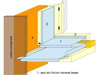 Menuiseries bois alu pour maisons ossature bois