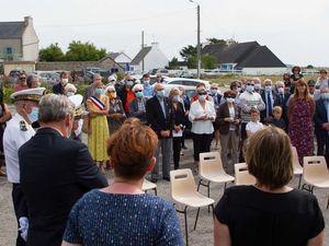 12 août 2020 - Michel Jourden maire de Lampaul Plouarzel