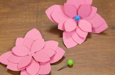 Comment faire des fleurs en papier facile