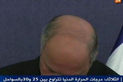 Fabius, l'homme qui voulait tuer Bachar al Assad en train de ronfler à la tv algérienne