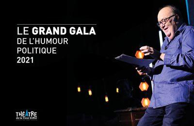 Le grand gala de l'humour politique 2021 présenté par Bernard Mabille diffusé ce soir sur Paris Première