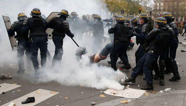 Libération des personnes arrêtées lors de la manifestation de dimanche Communiqué des personnels du collège Henri Barbusse (Saint-Denis)