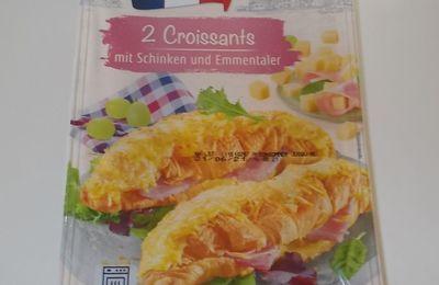 Lidl Duc De Coeur 2 Croissants mit Schinken