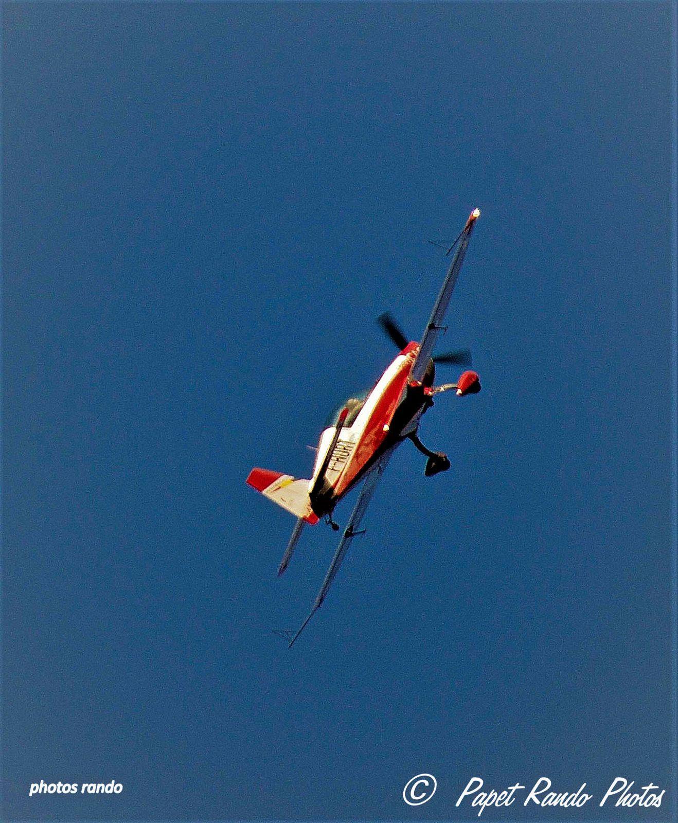 Toujours un beau spectacle notre Ami Acrobate du ciel, avec le Covid, moins souvent
