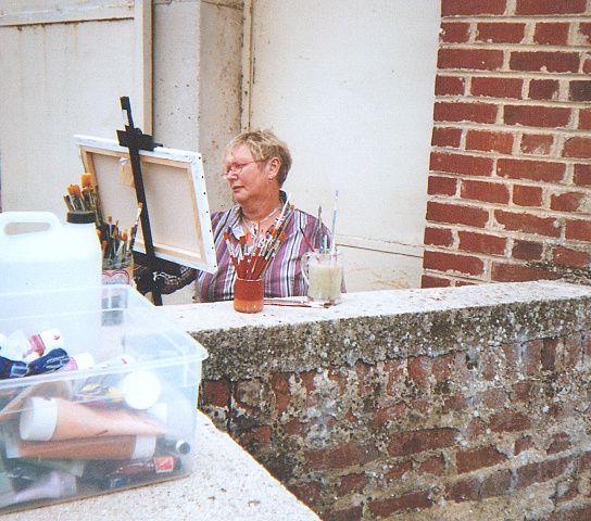 Quelques journées de peintres dans la rue  ou en salle par mauvais temps
