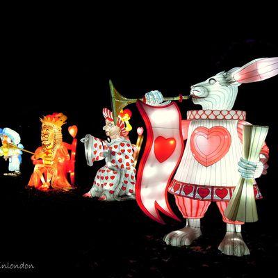 Alice in Winterland, un festival de lanternes