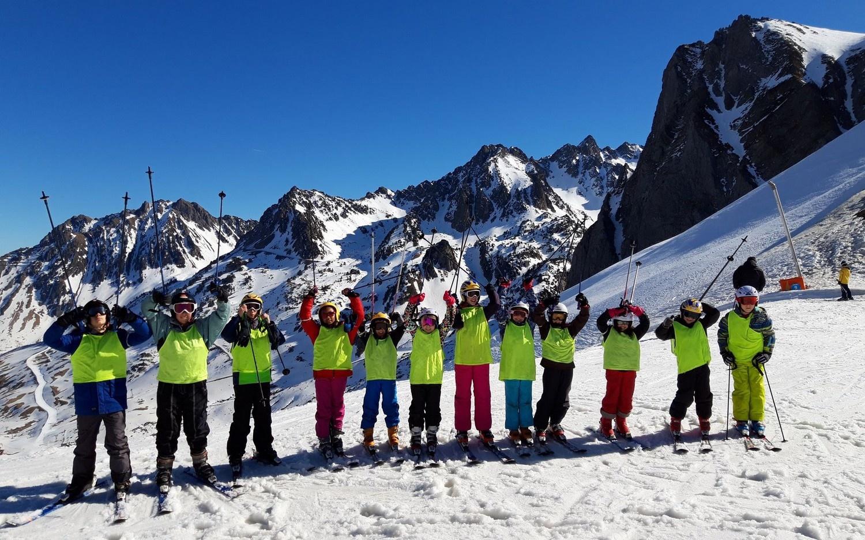 Le séjour ski (9-15 ans) sur les pistes de La Mongie
