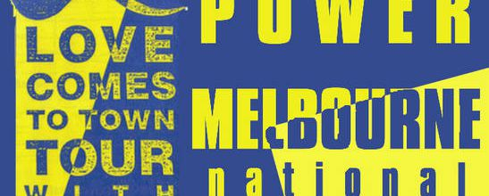 U2 -Lovetown Tour -09/10/1989 -Melbourne Australie- National Tennis Center