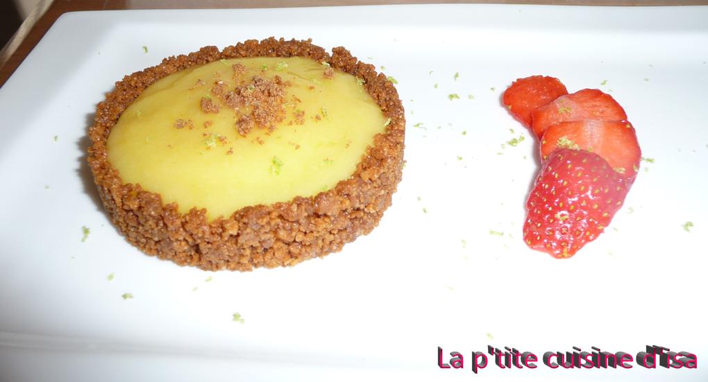 Tartelettes Citron et Spéculoos