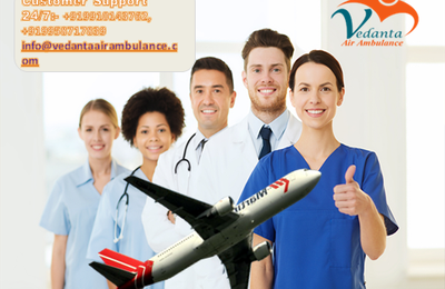 Peer to peer patient transfer facility from Bangalore to anywhere in India by Vedanta