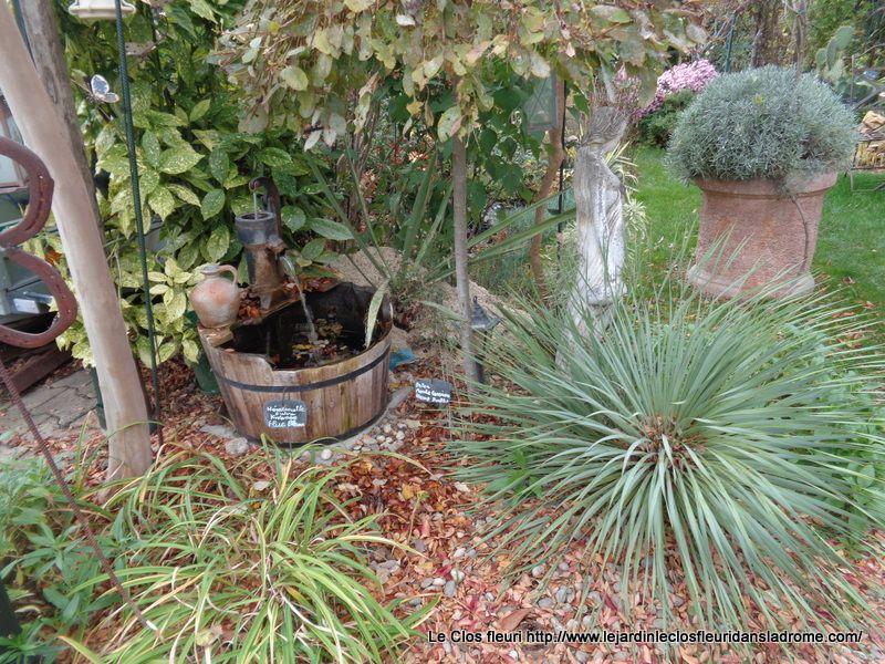Le jardin Le Clos fleuri en novembre
