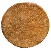 Descifran el disco de Festos, la 'Rosetta' de la cultura minoica