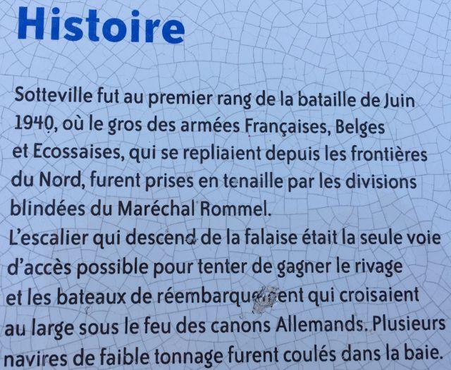 Escalier de Juin 1940 Sotteville sur Mer