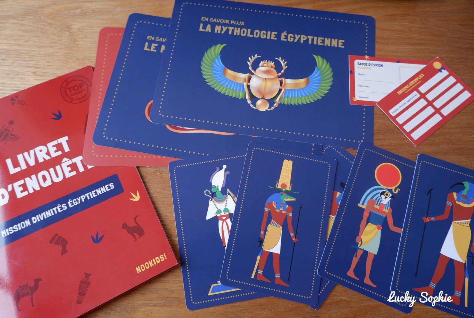 Un escape game sur le thème de l'Egypte, adapté aux enfants dès 7 ans avec Mysteriokid. A faire à la maison !