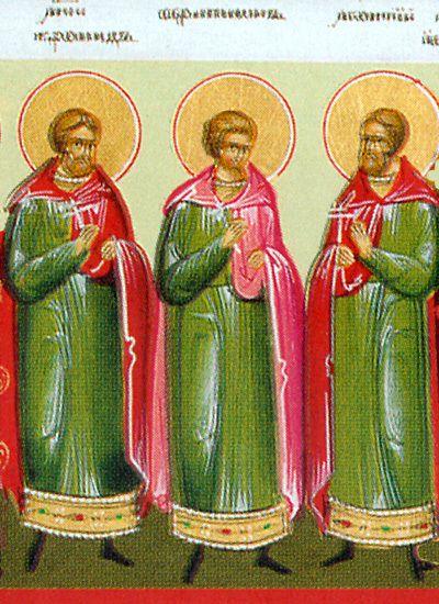 Saint Martyr Chronides d'Alexandria