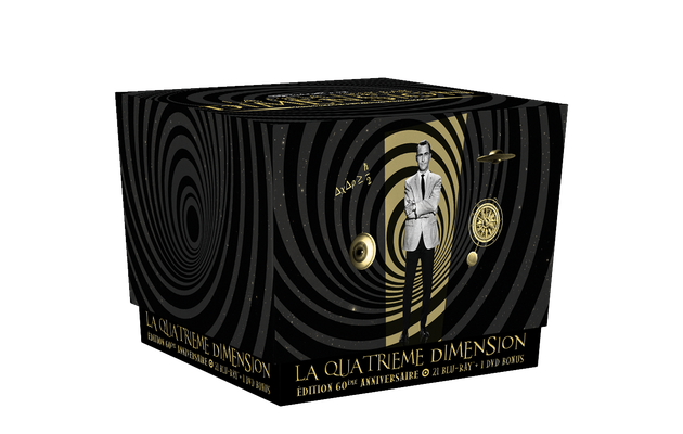 [REVUE CINEMA BLU-RAY] LA QUATRIEME DIMENSION - LA SERIE ORIGINALE - Saisons 3, 4 et 5 + DVD Bonus