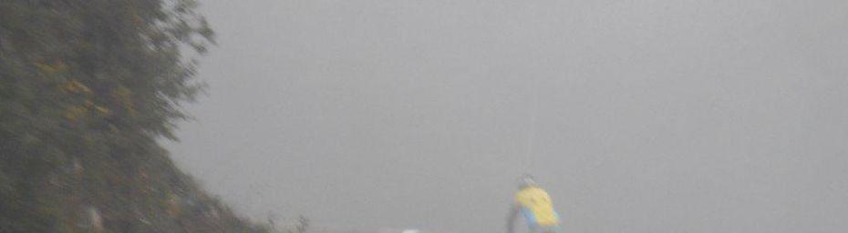 BCB : un bon groupe ce matin dans la brume façon Pointe du Contentin ! 88km - 728m