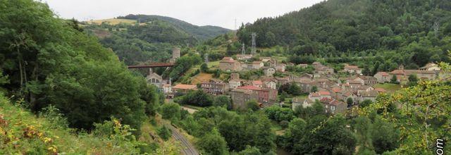 Le village de Monistrol-d'Allier / Balade en Haute-Loire