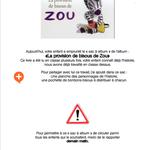 Sac à album La provision de bisous de Zou chez Maïcé