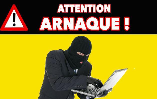 Attention, ARNAQUE par le biais de la messagerie ...