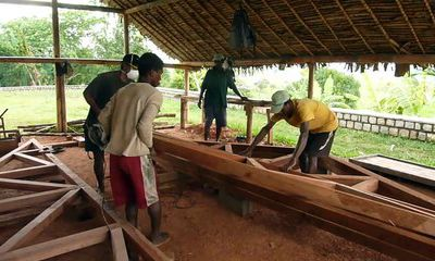 Fabrication des charpentes